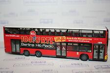 Rietze 67767, MAN Lions City DL, BVG Berlin, RTL 104.6, neu, Sonder-OVP, Bus
