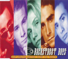 Backstreet Boys - Quit Playing Games ( With My Heart ) ( Maxi Cd, 1997 )