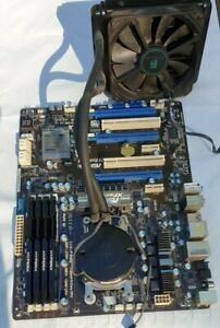 AMD FX 8350 CPU ASRock 970 Extreme4 Motherboard and 32G Kingston HyperX Fury RAM