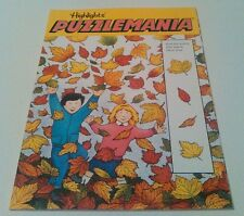 Highlights PUZZLEMANIA Find The Leaves That Match These Four Book