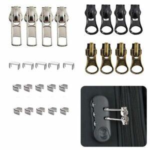 12 Pieces # 5  Zipper Slider Repair Kits Zipper Sliders Zipper Pull Replacement