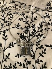 "Monogram ""I� Bangle - Retired, Htf! Plunder Design Bracelet - Lindy -"