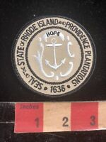 Seal State Of Rhode Island And Providence Plantations 1636 Patch 97V4