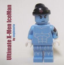LEGO Custom -- Ice Man -- Ultimate X-Men Marvel Super heroes