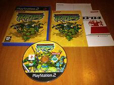TEENAGE MUTANT NINJA TURTLES  PARA  PLAYSTATION 2 / PS2 / PLAY2