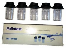Palintest Photometer Round STUBBY Glass Test Tubes (5) Part No PT555