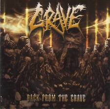 GRAVE - BACK FROM THE GRAVE (2002) Death Metal CD Jewel Case by Fono Music+GIFT