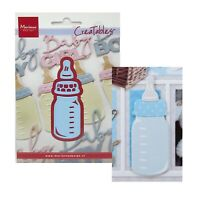 Baby Bottle Metal Die Cut Set Marianne Cutting Dies LR0575 Announcements,Shower