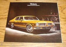 Original 1974 Pontiac Ventura Sales Brochure 74 Custom