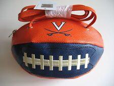 Virginia Cavaliers New Crossbody Football Purse Handbag Licensed  w/ tags