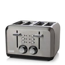Haden Perth Sleek Stainless Steel  4 Slice Toaster - 183477
