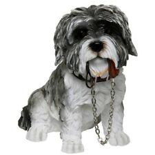 AD-SZ5SL Cute Shih-Tzu Dog Photo Slate Christmas Gift Ornament