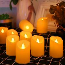 BLOOMWIN LED Candles USB Flameless Candles Flickering Electric Candle Tea Light