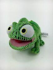 "Disney Store Tangled Pascal Chameleon 8"" Plush Animal Toy"