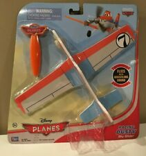 New Disney Planes Racing Dusty Sky Glider Toy Jet With Launcher