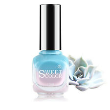 12ML Color Changing Nail Polish Blue to Pink Light Purple Temperature Varnish