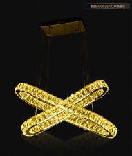 Creative LED Restaurant Crystal Chandeliers Pendant Lamp Fixtures Light Lighting