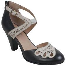 MIz Mooz New York City Cheery Shoes Black UK 4 EU 37 LN35 86