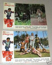 (Set of 10) Bionic Boy (Johnson Yap) Hong Kong Film Lobby Card 70s