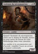 MTG Magic M15 FOIL - Necromancer's Assistant/Assistant nécromancien, French/VF