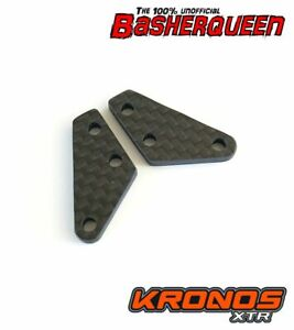 Basherqueen Carbon Fiber Steering Block Arms Team Corally Kronos XTR 3mm