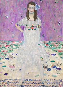 Gustav Klimt, Mada Primavesi 1912, Fade Resistant HD Art Print or Canvas