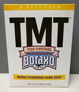 Boraxo 5 LB Box TMT Powdered Hand Soap, Unscented Powder