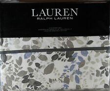 Ralph Lauren King Sheet Set Devon 4pc Contemporary Cottage Leaves Modern Cream