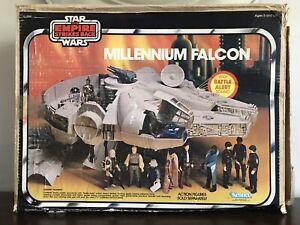 BOX ONLY Vintage Star Wars Millennium Falcon EMPIRE STRIKES BACK Kenner Original