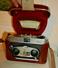 VINTAGE SAWYER'S MK II VIEWMASTER STEREO COLOR CAMERA RARE & CASE 1960's  F458
