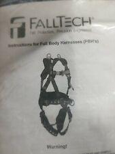 Falltech Full Body Harness 7007 Size Unversal Ft Basic Black Blue