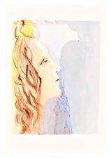 Divine Comedy Paradise 8 by Salvador Dali A4 Art Print