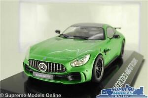 MERCEDES AMG GT R COUPE MODEL CAR GREEN 1:43 SCALE IXO SPORTS SUPER CAR K8