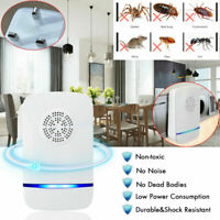 1/2/4X Electronic Mosquito Killer Repeller Reject Rat Ultrasonic Insect Plug HL