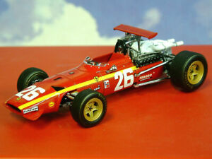 IXO 1/43 LA STORIA FERRARI 312 F1 #26 JACKY ICKX 1ST WINNER FRENCH GP ROUEN 1968