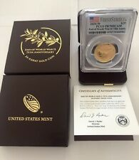 2020-W End of WWII 75th Anniversary 24-Karat Gold Coin PCGS PR70DCAM FirstStrike