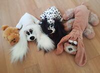 Hornby Bobbies Pound Puppies Vintage Soft Toy Plush Bundle Grandpa Grandpup