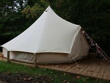 Used Beige 5m Canvas Bell Tent