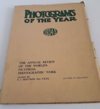 PHOTOGRAMS OF THE YEAR 1934-35  F.J MORTIMER