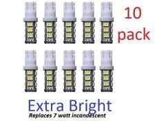 10-pack 12V DC LED bulb for Malibu landscape lighting warm white (yellowish) T10
