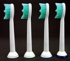 4 X Ersatzbürsten für Philips Sonicare HX6014, HX6510/22, HX6711/22, HX6730 usw.