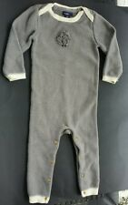 Baby Gap Boys Girls 18 24 M Gray Sheep Sweater ROMPER One Piece Outfit