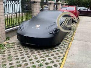 PORSCHE 911 718 MACAN TAYCAN BENTLEY ROLLS ROYCE CUSTOM INDOOR OUTDOOR CAR COVER