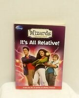 Disney Press Book - Wizards of Waverly Place - It's All Relative 2011 Softback..