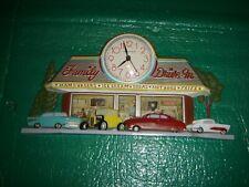 Vintage Speed Shop  Clock BUSTED KNUCKLE GARAGE  VINTAGE NHRA NSRA SCTA TROG