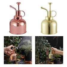 Vintage Plant Flower Watering Pot Metal Spray Bottle Garden Mister Sprayer
