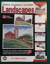 Teach Yourself to Paint Landscapes By Linda Lover Step-by-Step