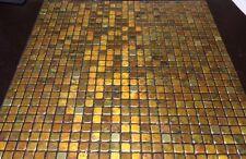 Markenlose Boden Wandfliesen Aus Mosaikfliese Für Die Küche - Mosaik fliesen braun gold