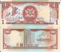 TRINIDAD Y TOBAGO 1 DOLLAR 2006 P 46 LOTE DE 5 BILLETES