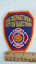 Fire Department City of Hartford Since 1864 Embroidered Patch